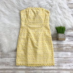Lilly Pulitzer Lakeland Lace Strapless Dress